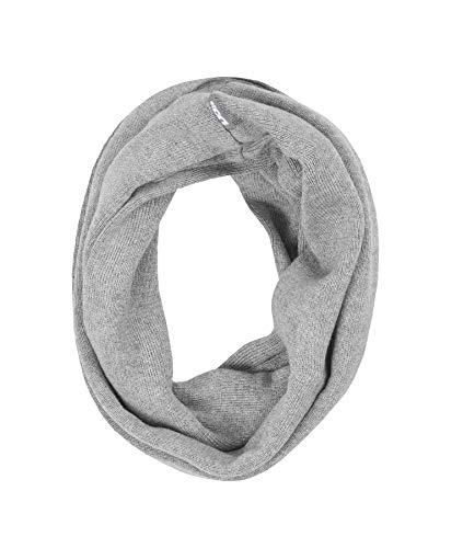 Döll Unisex Baby Schlauchschal Strick Schal, Grau (Light Gray Melange|Gray 8100), 1 (Herstellergröße: 1)