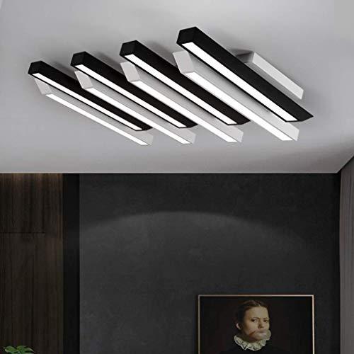 DEJ LED plafondlamp controlelampje Moderne woonkamer creatieve slaapkamer 4 plafondlampen acryl lampenkap kunst piano verlichting binnen L96 cm W69 cm 64 W