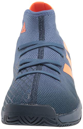 Product Image 2: adidas Phenom Tennis Shoe, Crew Navy/Screaming Orange/Crew Blue, 5 US Unisex Big Kid