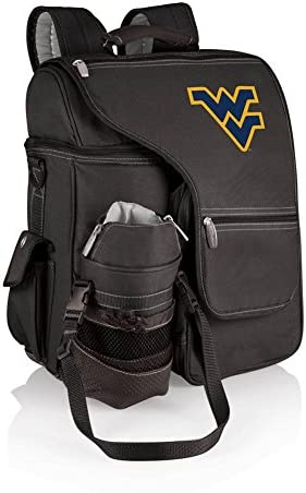 ONIVA a Picnic Time brand West Virginia Mountaineers Turismo Travel Backpack Cooler Black product image