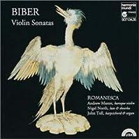 ビーバー:ヴァイオリンソナタ集