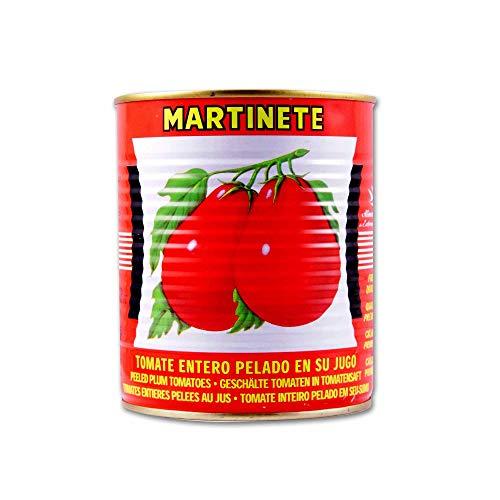 Martinete Tomate Entero Pelado en su Jugo - 810g