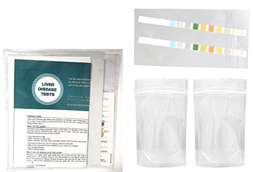 2 x Liver Function Tests with 2 Urine Collection Containers