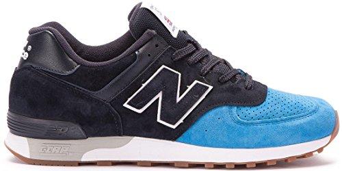 New Balance 576 M576PNB Weite: D Made in England Sneaker LTD Schwarz/Blau, Schuhgröße:EUR 41.5