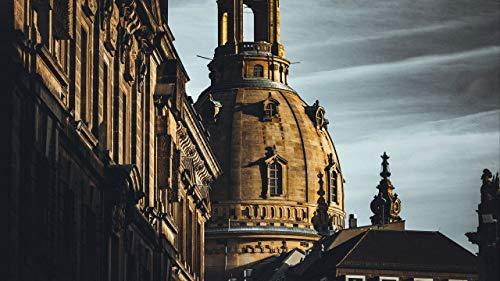 Puzzle 1000 Piezas Adecuado para Adolescentes Y Adultos Rompecabezas De Madera Decoraciones Hogar Arquitectura, cúpula, catedral, palacio