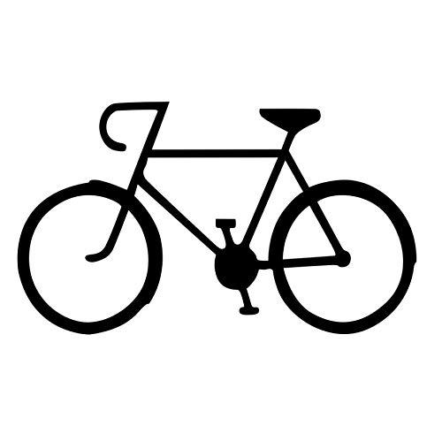 YANCONG Pegatinas de Pared DIY Ciclismo PVC Bike Wall Art Decal ...
