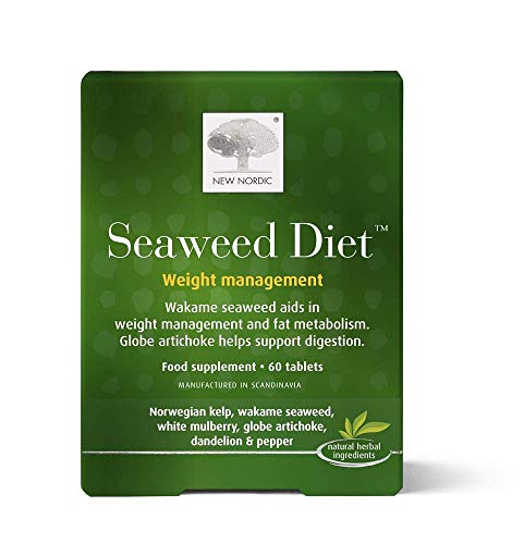 New Nordic Seaweed Diet Weight Management, 60 Tablets, 60 g, 94691