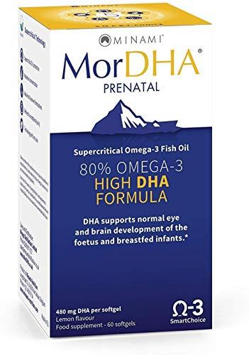 Minami Nutrition MorDHA Prenatal 60 Caps (Pack of 2)