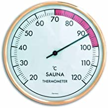 TFA sauna colour dorado-blanco termómetro 401011
