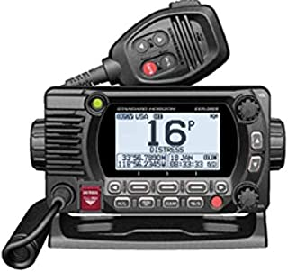 STANDARD HORIZON GX1800GB Black 25W VHF/GPS/Second Station Explorer Series