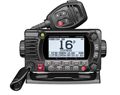 STANDARD HORIZON GX1800GB Black 25W VHF/GPS/Second Station Explorer Series