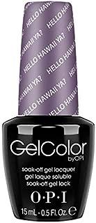 OPI GelColor Soak Off LED/UV Gel Nail Polish H73 Hello Hawaii Ya? 15ml