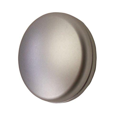 Dekomagnet rund 28mm - zum raffen von Vorhängen oder als Griff für Schiebevorhänge - Qualität Made in Germany - starker Halt (Edelstahl)