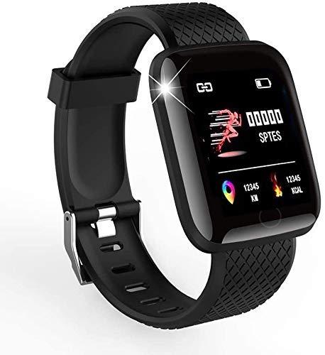 Smart Watch 2020 Neues Modell, Fitness-Tracker für Männer und Frauen, Blutdruckmessgerät, Blutoximeter, Herzfrequenzmesser, wasserdichte Smartwatch, kompatibel mit iPhone/Samsung