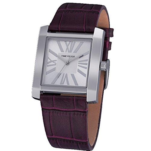 Time Force TF3390L08 - Orologio da polso, pelle