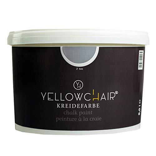 Kreidefarbe yellowchair No. 2 rauchblau ÖKO für Wände und Möbel 5 Liter