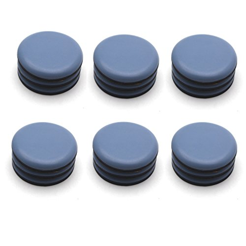 Antrader 12Pack Self-Stick Furniture Sliders 2' Round Table Carpet Ground Protector Furniture Moving Pads