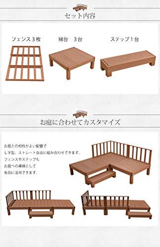 Liebe【リーベ】DIY樹脂デッキキット7点セット(お客様組立て)カルパティアII