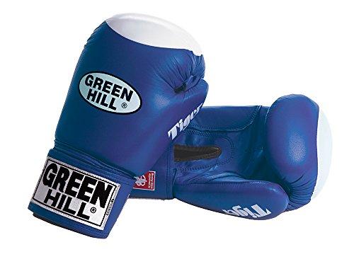 GreenHill Erwachsene Boxhandschuhe Tiger, Blau, 12 oz