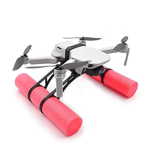 CUEYU Damping Landing Gear - Kit di supporto galleggiante per DJI Mavic Mini, Landing Skid Float Training Kit di atterraggio sull'acqua compatibile con DJI Mavic Mini Drone (A)