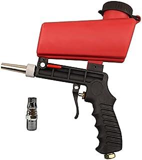 Portable Sand Blaster Sandblasting Gun Kit Sand Blasting Spray Tool for Air Compressor - DIY Abrasive Sandblaster Blaster ...
