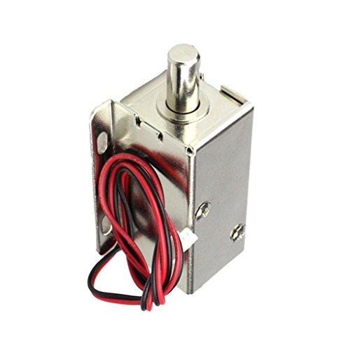 MagiDeal DC12V Mini Elektrisches Schloss Eletroschloss Zugangskontrolle für Tür/Schrank/Schubladen