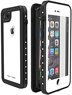 ImpactStrong iPhone 7/8 Waterproof Case [Fingerprint ID Compatible] Slim Full Body Protection for Apple iPhone 7 and iPhone 8 (4.7 inch) - White