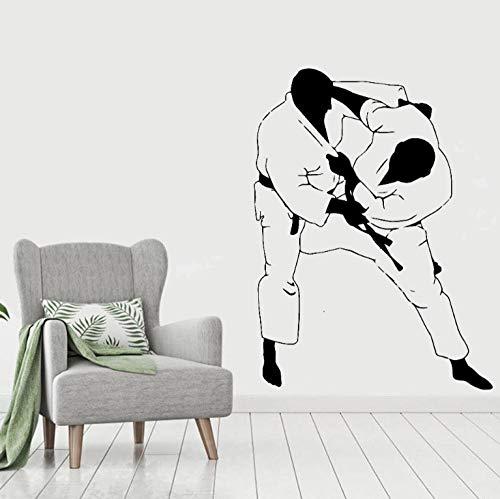 Wandtattoo Aufkleber Tapete Judo Art Wanddekoration Für Kinder Wohnzimmer Home Decor Wandbild 57cmX76cm