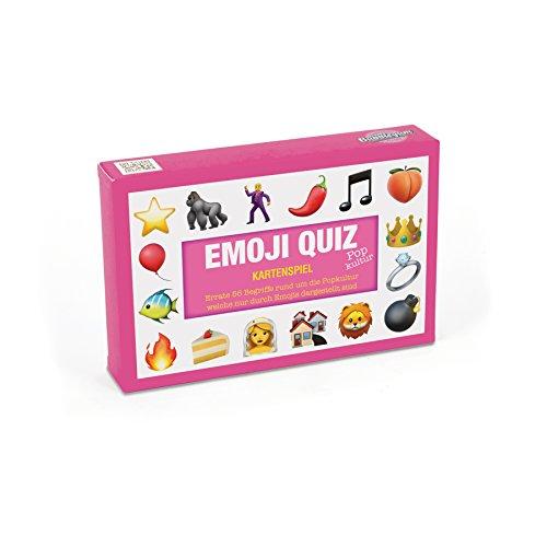 Bubblegum Kennst du das Emoji Spiel - Popkultur | Kartenspiel