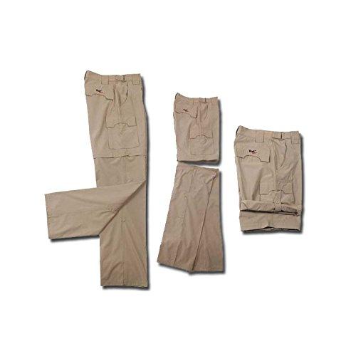 Tucuman Aventura - Convertible détachable Pantalons en Pirate et Bermudes (Gris Sombre, 48)