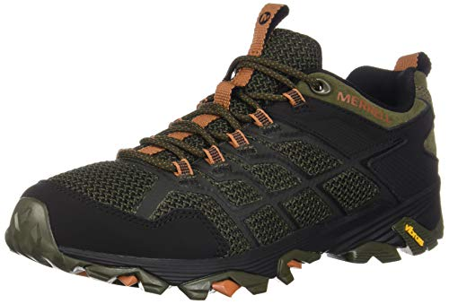 Merrell Men's Moab FST 2 Hiking Shoe, Olive/Adobe, 07.5 M US