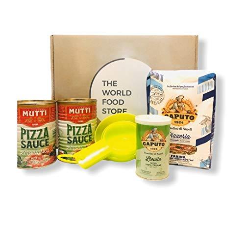 Italian Cook at Home Pizza Kit! - Caputo Italian Premium Pizzeria Flour 1kg...