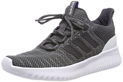 adidas Men's Cloudfoam Ultimate Fitness Shoes, Grey (Grefiv/Carbon/Grefiv 000), 7.5 UK (41 1/3 EU)