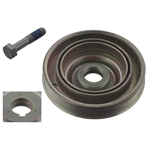 febi bilstein 33802 Riemenscheibe (entkoppelt) für Kurbelwelle, mit Schraube , 1 Stück