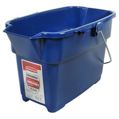 Rubbermaid 1793555 Roughneck, 14-Quart, Blue