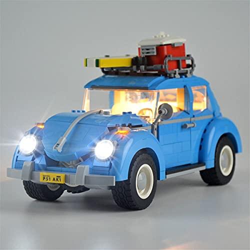 Kit De Luces Led Para Creator Volkswagen Beetle, Compatible Con El Modelo De Bloques De ConstruccióN De Juguetes Lego 10252 (No Incluido En El Modelo)