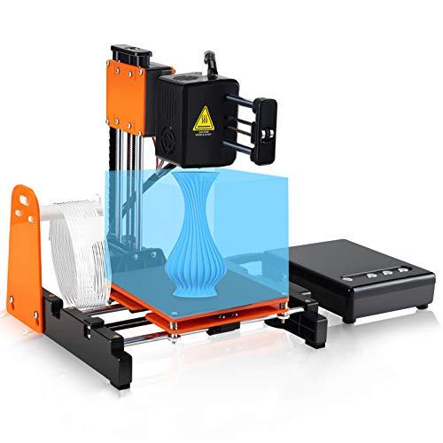 Kacsoo piccola stampante 3D per bambini e principianti, stampante 3D portatile, riscaldamento veloce, design migliorato dell'estrusore, filamento da 1,75 mm per casa, scuola e ufficio