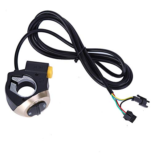 Surebuy Interruptor de lámpara de Bicicleta eléctrica Duradero fácil de Usar Interruptor de bocina de Bicicleta eléctrica Adecuado para Bicicleta eléctrica, Scooter, etc.