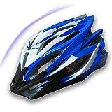 DIDIOI Casco De Ciclista, Ultralight Bike El Hombres Mujeres Casco De Ciclista,Azul
