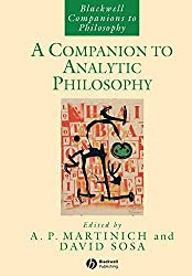 A Companion to Analytic Philosophy - A. P. Martinich & David Sosa Book Cover