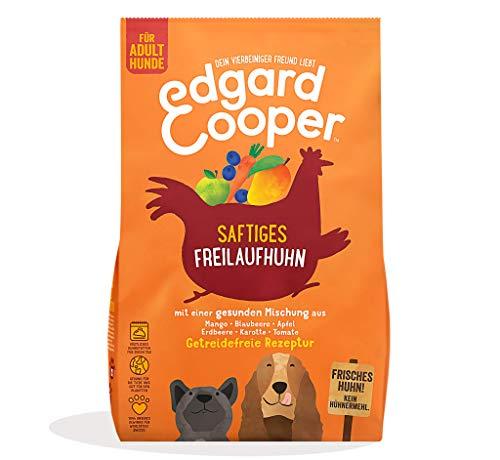 Edgard & Cooper natürliches Premium Trockenfutter für Adult Hunde - 7kg - Huhn - getreidefrei und proteinreich
