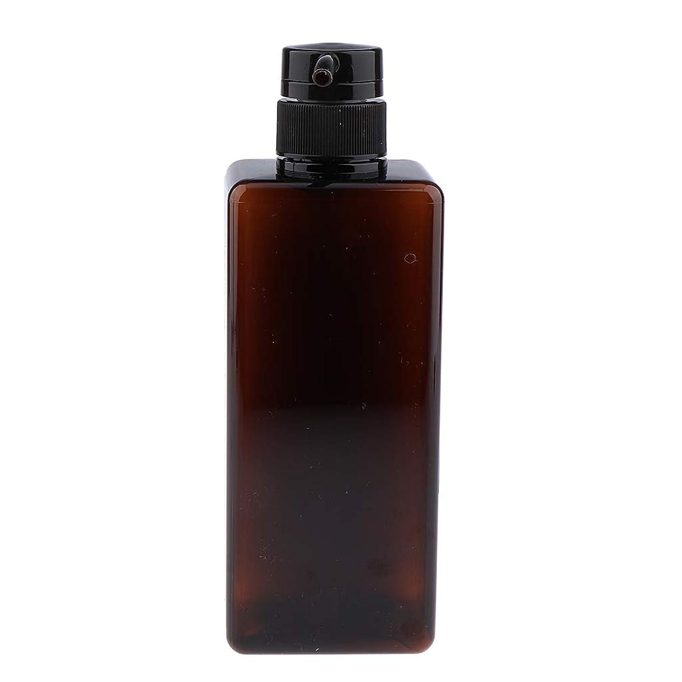 コントロール農奴オセアニアB Blesiya シャンプーコンテナ プラスチック ポンプボトル 650ml 漏れ防止 4色選べ - 濃い緑色