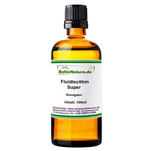 Fluidlecithin Super (100 ml) Fluidlecithin Super Emulgator