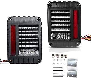 Toby's Jeep Wrangler JK JKU LED Tail Light With Turn Signal & Back Up For JK JKU