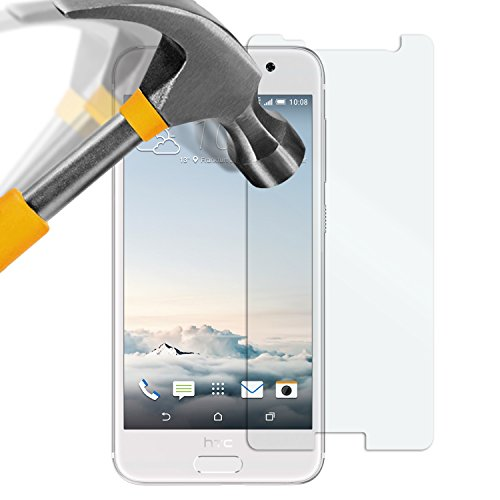 moodie Panzerglas Folie für HTC One A9 - Premium Glasfolie 9H Panzerglasfolie für HTC One A9