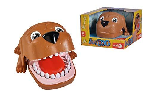Noris 606064050 Bulldog, Aktionsspiel für Die ganze Familie (Keine Batterien erforderlich), für Kinder ab 3 Jahren
