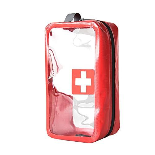 Rowentauk Waterproof Medical First Aid Kit Transparente Aufbewahrungstasche für Pill Reise Wohnaccessoires