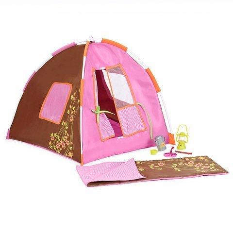 Our Generation New Accessories - Conjunto de acampamento