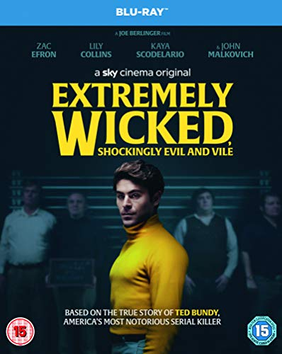 Extremely Wicked, Shockingly Evil and Vile (Blu-ray) [2019] [Region Free]