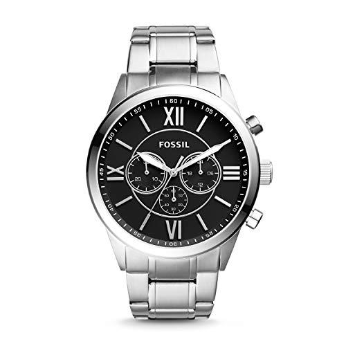 Fossil Flynn Chronograph Stainless Steel Watch BQ1125